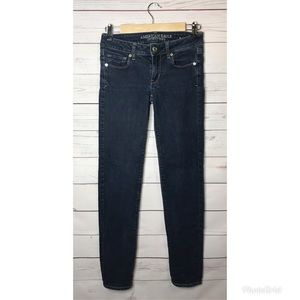 American Eagle Skinny Jeans long Size 0